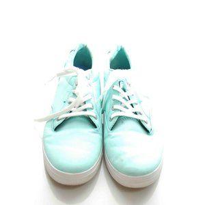 Van's Women's Shoes Blue Sneaker Lace Up Skate 8